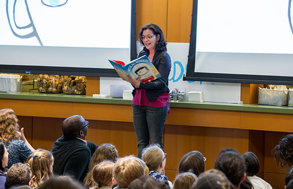 R.J. Palacio | Take Your Kids to Work Day | Photo Credit: Kersten Hecker
