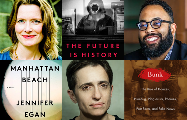 NBA 2017 Long List: Jennifer Egan, Masha Gessen, and Kevin Young
