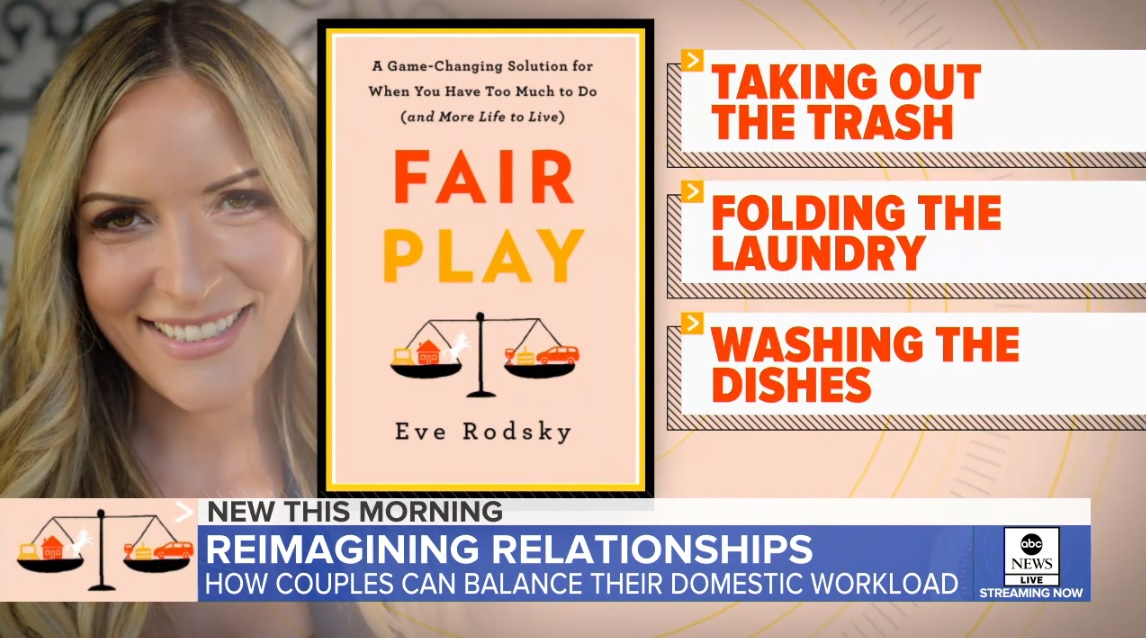 Eve Rodsky on Good Morning America
