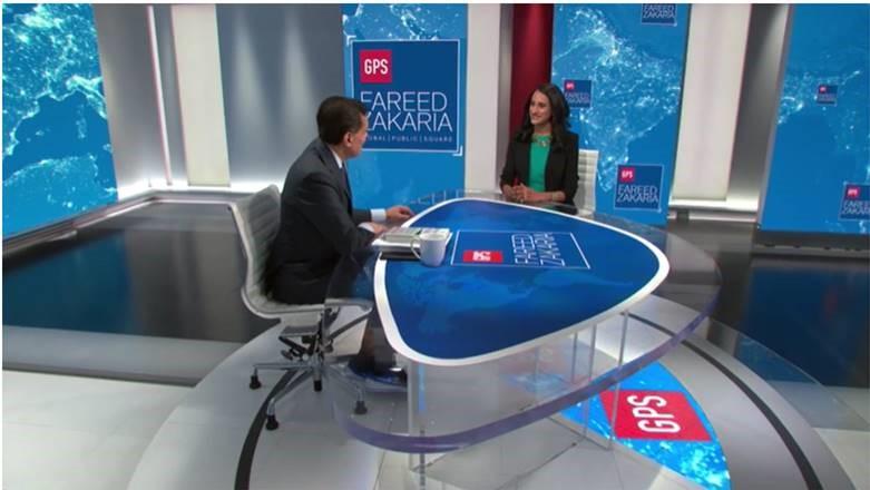 Bina Venkataraman on CNN