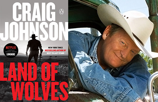 Craig Johnson's <I>Land of Wolves</I> (Paperback)